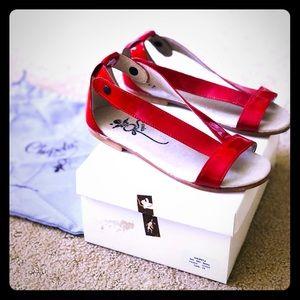 Other - Designer Kids Girls summer sandals Chupets Paris